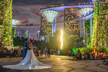 Jour de mariage à Singapour