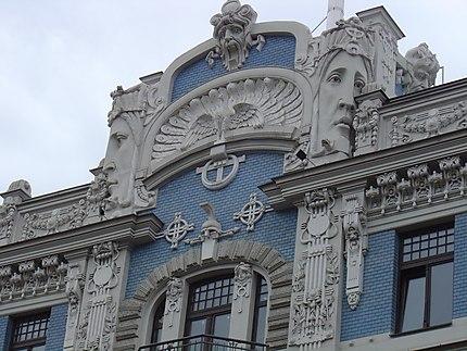 Riga : Art Nouveau, rue Elisabetes