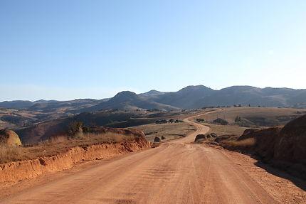 Piste en Swaziland, en mode 4x4