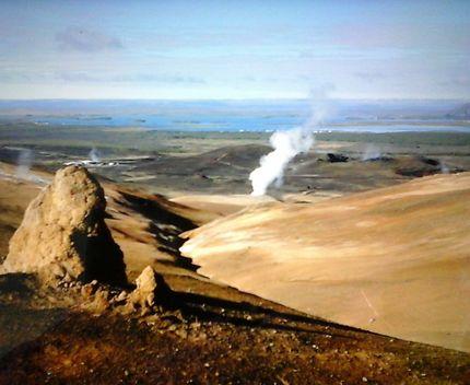 Champ géothermique de Hverarönd
