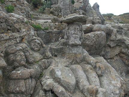 Sculptures en bord de mer