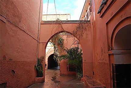 Les ruelles de Marrakech