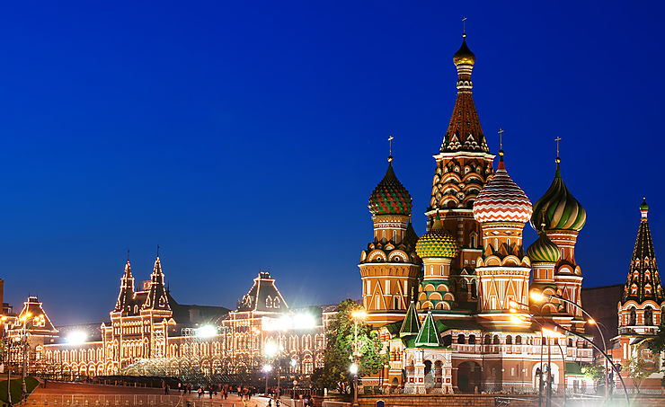 Moscou - Un parc inauguré à côté de la place Rouge