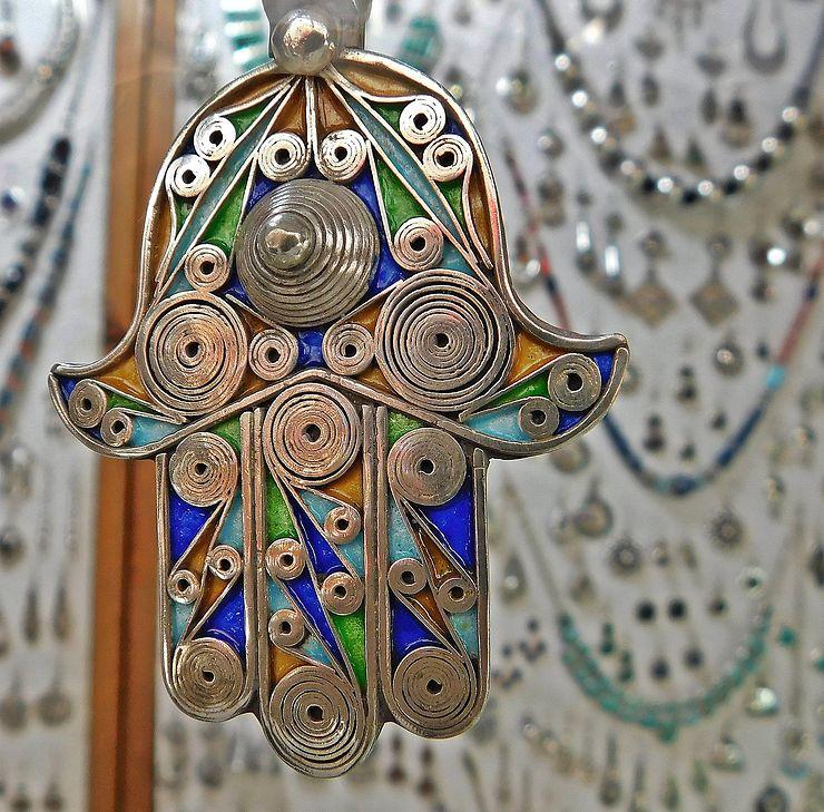 Main de Fatima, Essaouira, Maroc