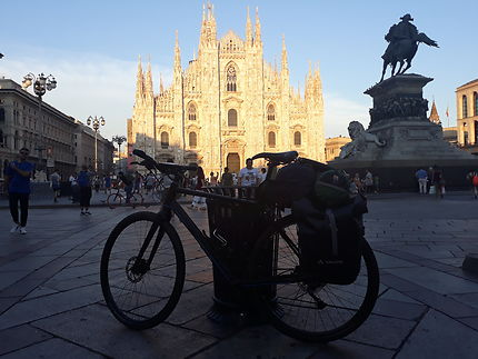 Eurovelo 5 - Milan