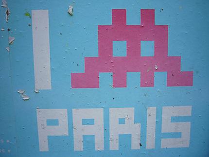Space Invaders Paris