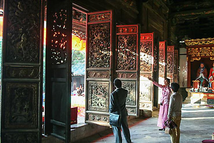 Visite de Jianshui
