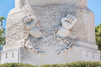 Alger - Monument aux Martyrs, Guerre d'Algérie