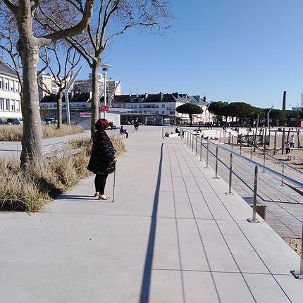Bord de mer à Saint-Nazaire