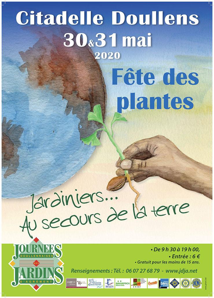 Journées doullennaises des jardins d'agrément à la citadelle de Doullens