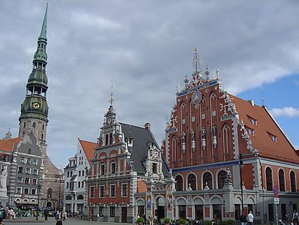 Riga : Maison des têtes noires