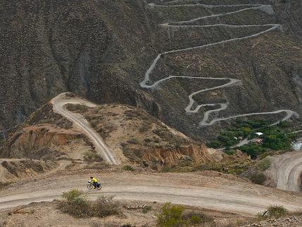 Le Pérou à vélo, Cordillère Blanche