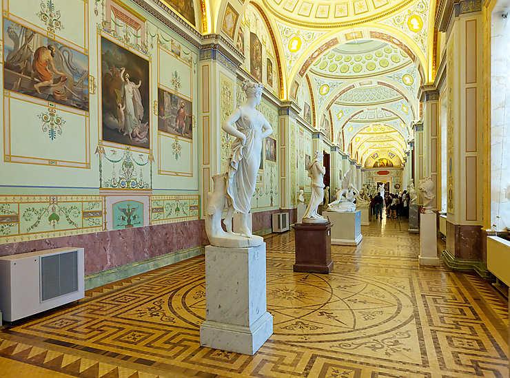 Visiter l'Ermitage