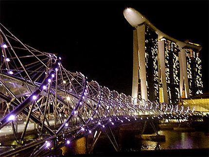 Marina Bay Sands de nuit