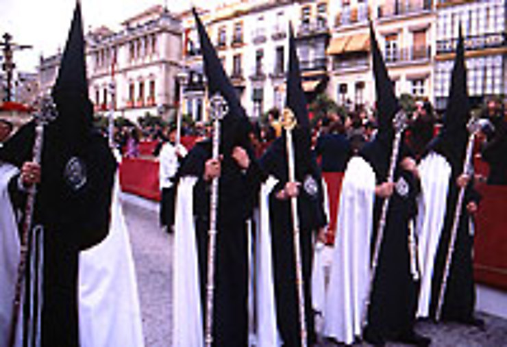 Semana santa, fiesta à Séville