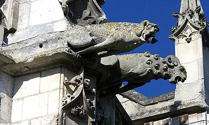 Gargouilles, église St-Etienne, Beauvais