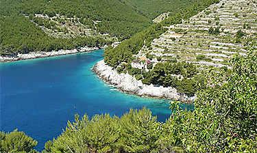 Île de Korčula (Dalmatie)