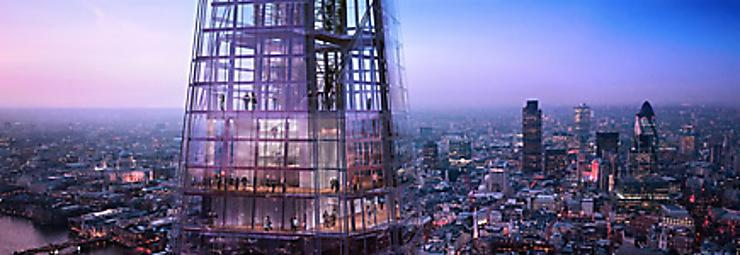 The Shard à Londres : le plus haut gratte-ciel d'Europe