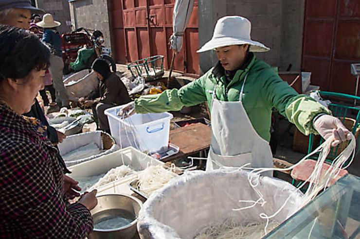 Gourmandise au Yunnan