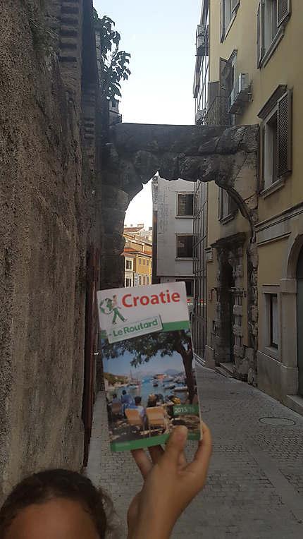 L'arche romaine de Rijeka