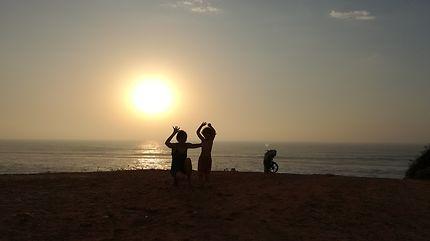 Coucher de soleil sur Harhoura