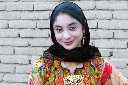 Portrait de femme à Bam, Iran