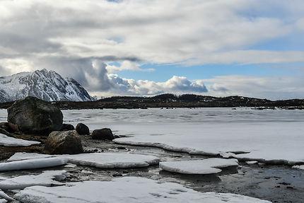 Lac gelé, Norvège