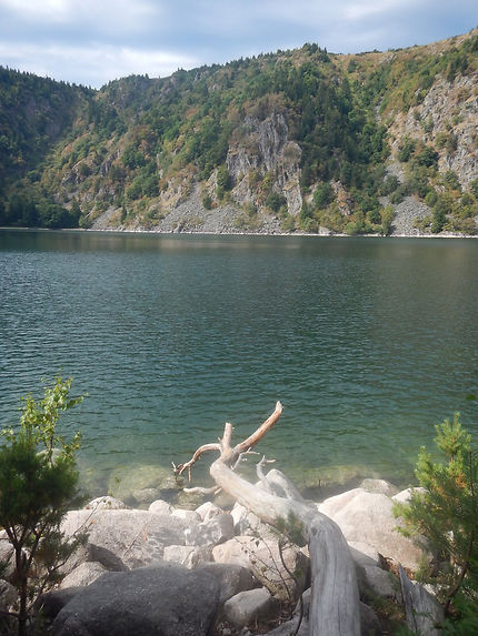 Eaux limpides du lac Blanc