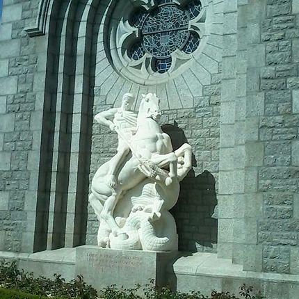 Au cimetière de Saint-James