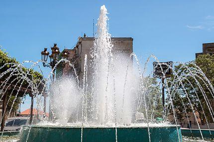 Alger - Place Geay - La fontaine