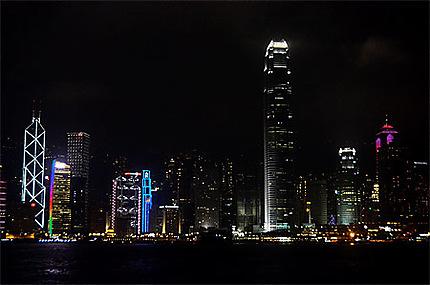 Honk Kong by night