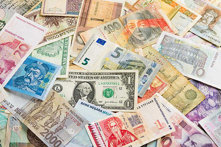 Argent Billets Devises