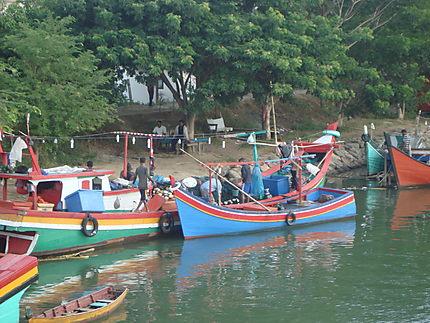 Bateau de pêche (nord Sumatra)