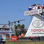 Panneau d'entrée à Daytona