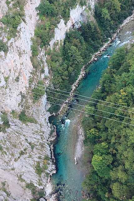 La rivière de la Tara au Monténégro
