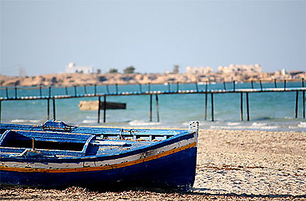 Une plage à Zarzis