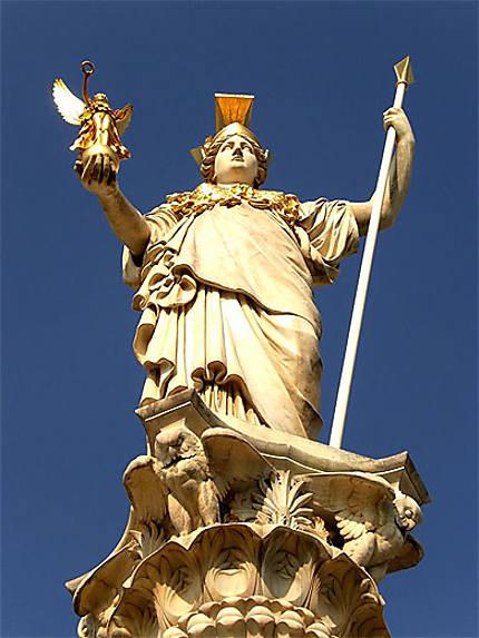 La statue d'Athéna