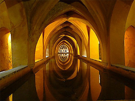 Les bains de l'Alcazar de Séville