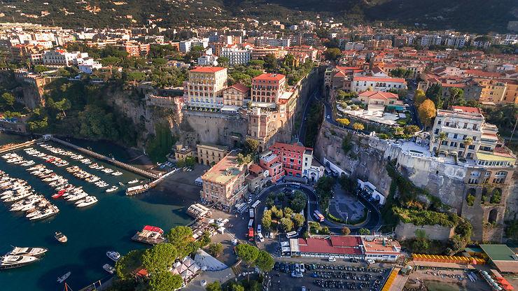 Sorrento, petit jardin d'Eden face à Capri