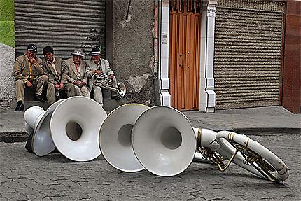 Le repos des musiciens