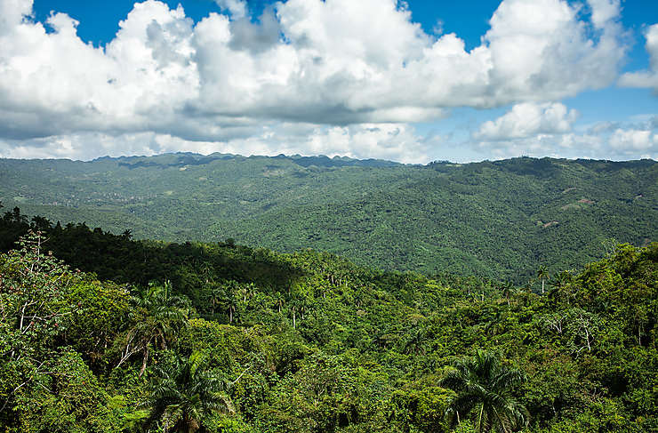 Randonner dans la sierra Maestra, vers la comandancia ou le Pico Turquino