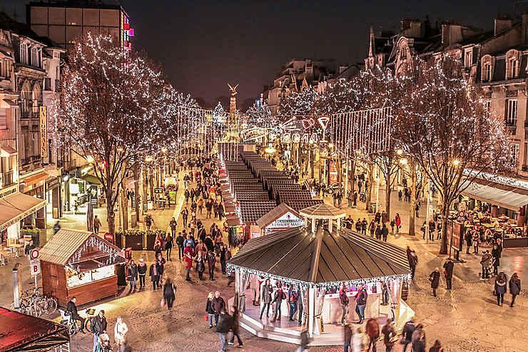 Marché De Noel Bourgogne Marchés et festivités de Noël en France : Marchés de Noël