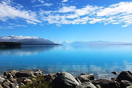 Lac Pukaki - Nouvelle-Zélande