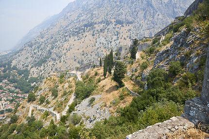 Randonnée au sommet de Kotor
