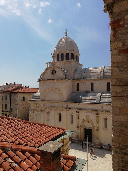 Cathédrale Saint-Jacques à Sibenik