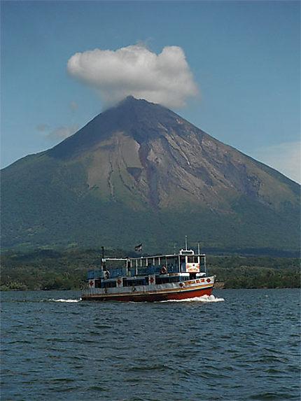 Le volcan Concepcion