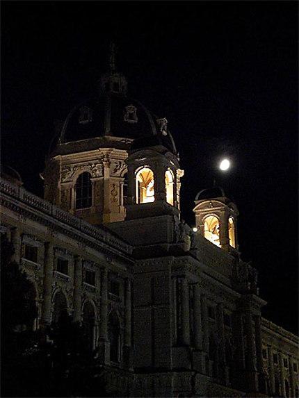 Muséeum d'histoire naturelle de nuit