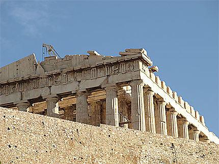 L'Acropole - le Parthénon
