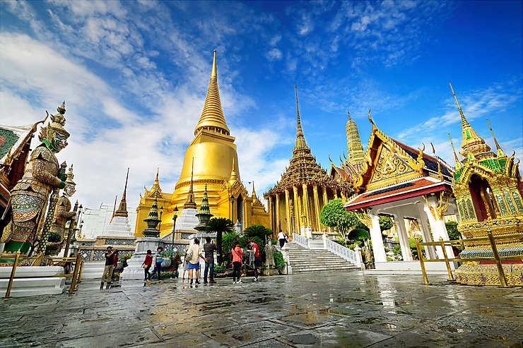 Bangkok : le Wat Phra Kaeo, joyau du Royaume