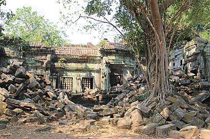 Temples écroulé